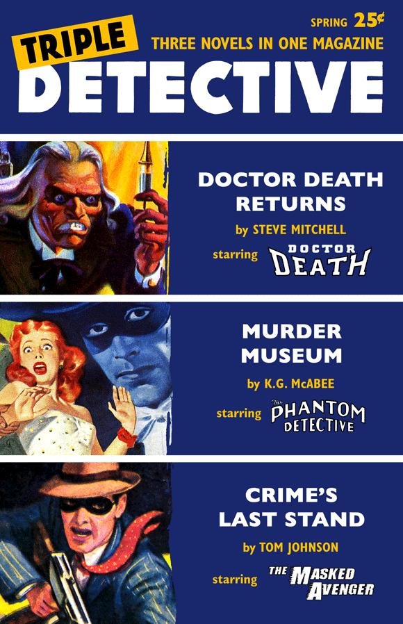 Triple Detective #2 (Spring 1956)