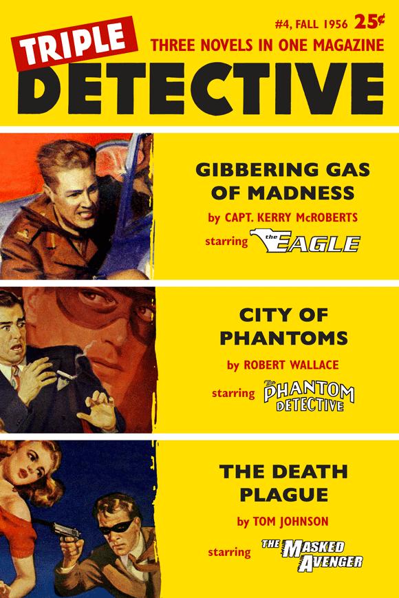 Triple Detective #4 (Fall 1956)