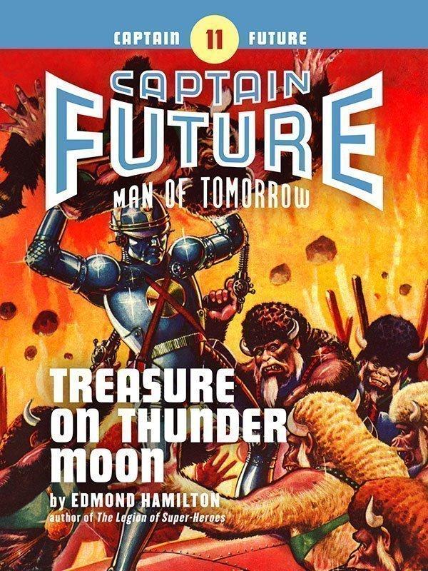Captain Future #11: Treasure on Thunder Moon (eBook)