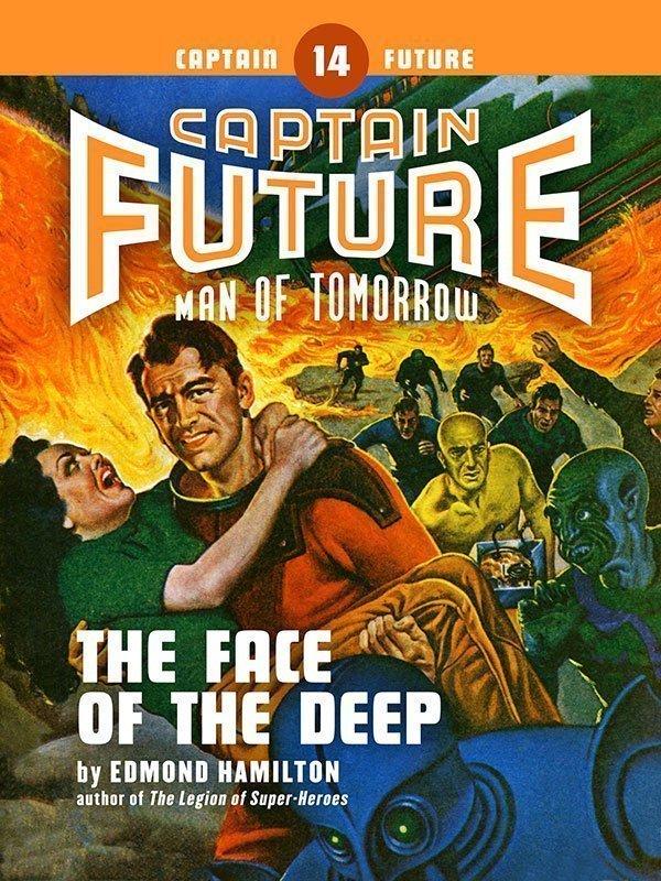 Captain Future #14: The Face of the Deep (eBook)