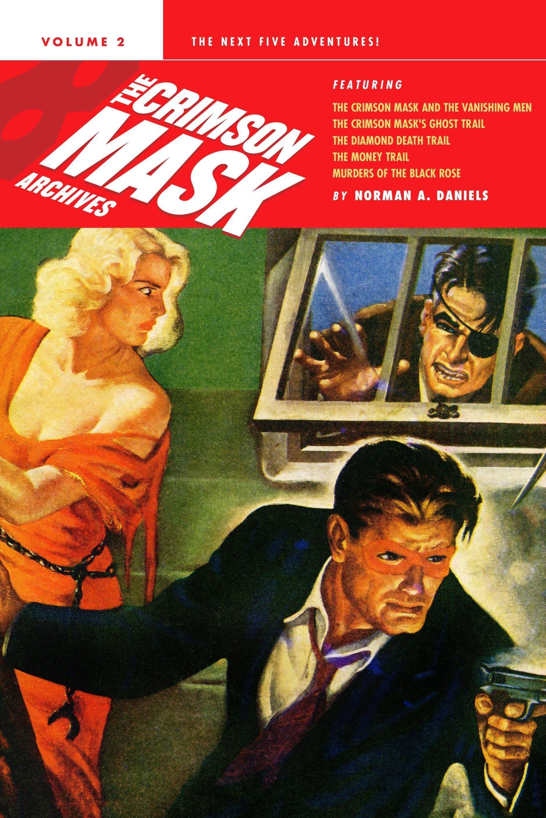 The Crimson Mask Archives, Volume 2