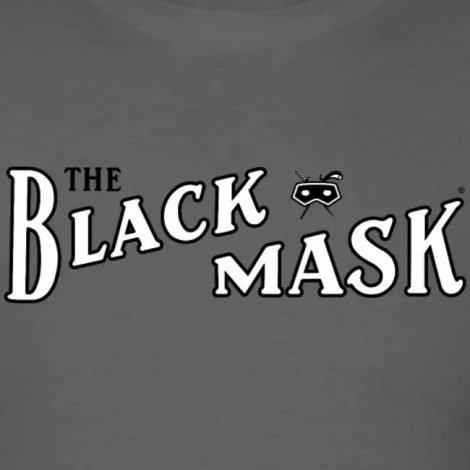 Black Mask 1920s Logo T-Shirt (Style A)
