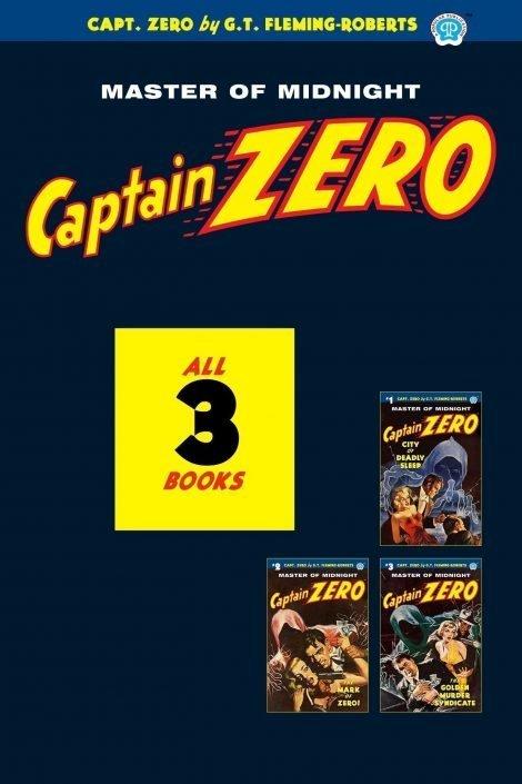 Captain Zero #1-3 (Three Book Set)
