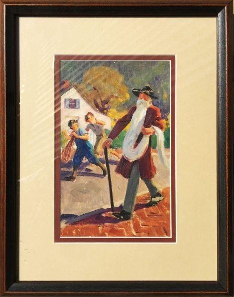 Jerome Rozen advertising illustration