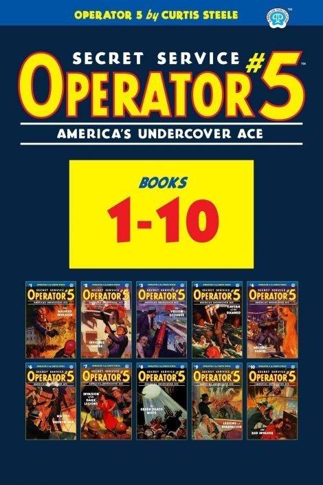 Operator 5 #1-10 (Ten Book Set)