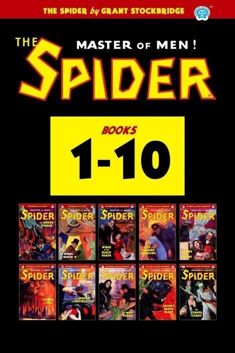 The Spider #1-10 (Ten Book Set)