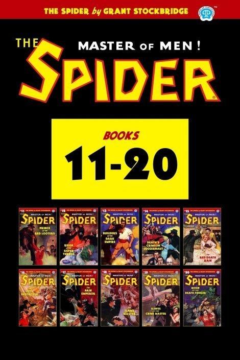 The Spider #11-20 (Ten Book Set)