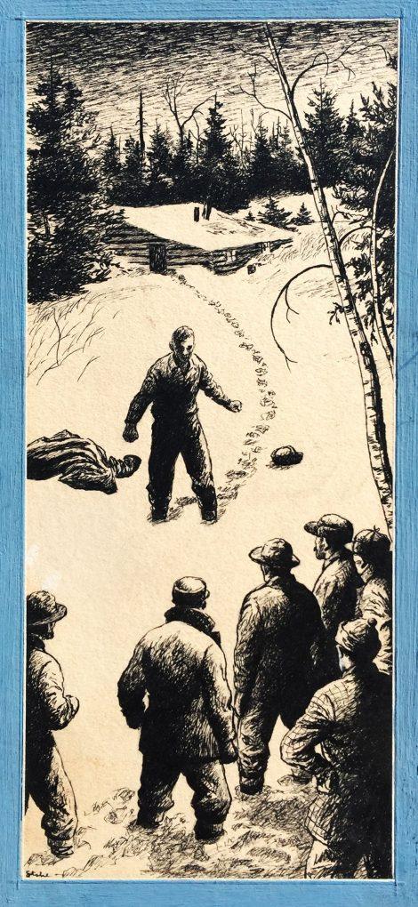 Benjamin Albert Stahl Saturday Evening Post Illustration