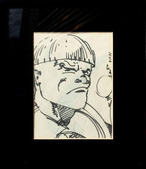 Walt Simonson Guy Gardner Sketch