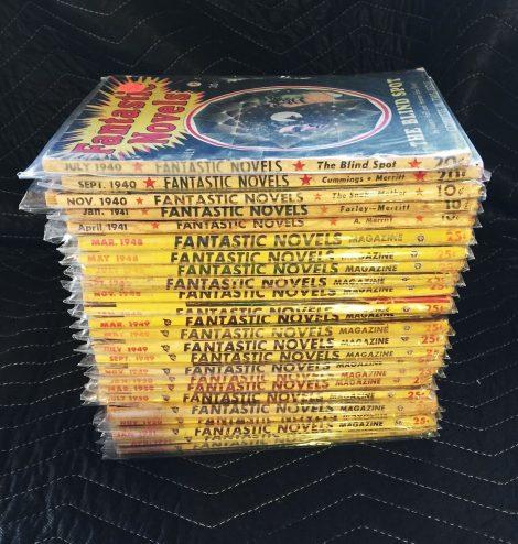 Fantastic Novels Magazine: Complete Set of 25 Issues