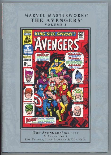 Marvel Masterworks: Avengers Volume 5 (out of print hardcover)