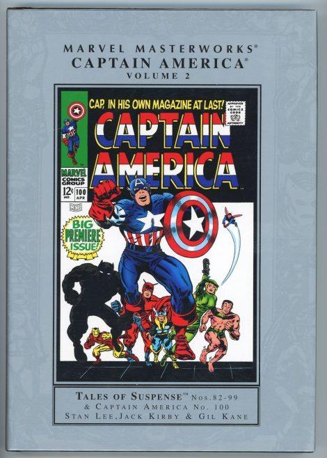 Marvel Masterworks: Captain America Volume 2