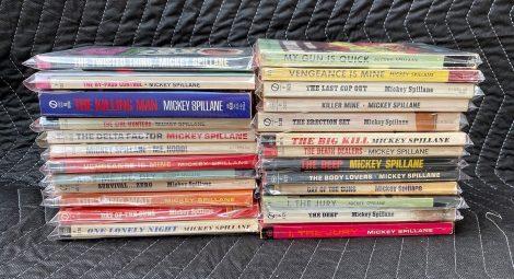 Lot of Vintage Mickey Spillane Paperbacks
