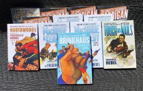 Publisher's Lot of Frederick Nebel Hardcover Books