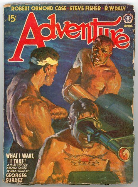 Adventure Magazine (April 1941)