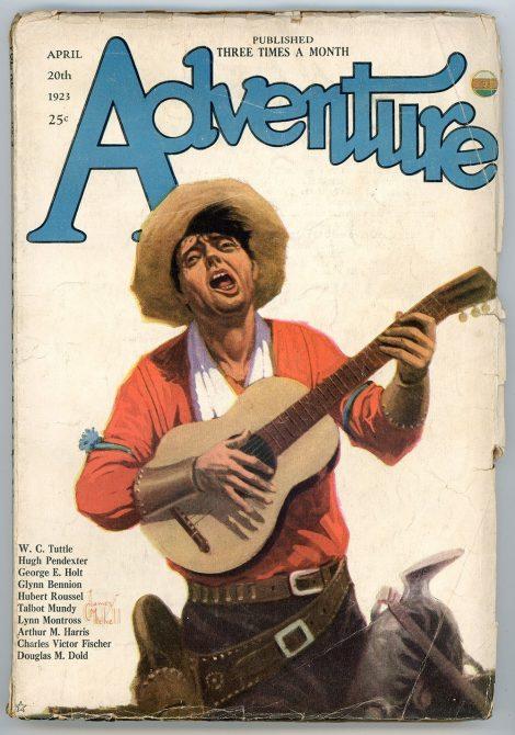 Adventure Magazine (April 20 1923)