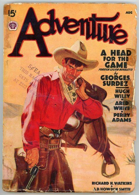 Adventure Magazine (August 1938)
