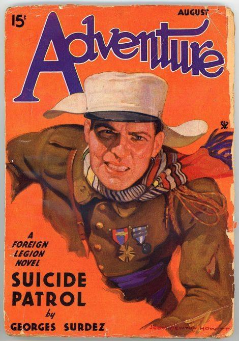 Adventure Magazine (August 1934)