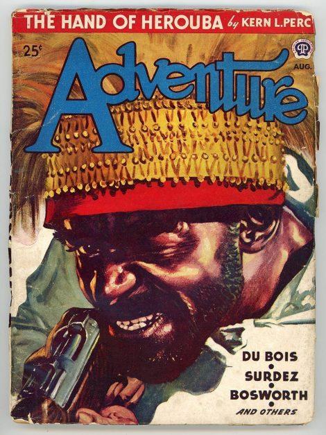 Adventure Magazine (August 1946)