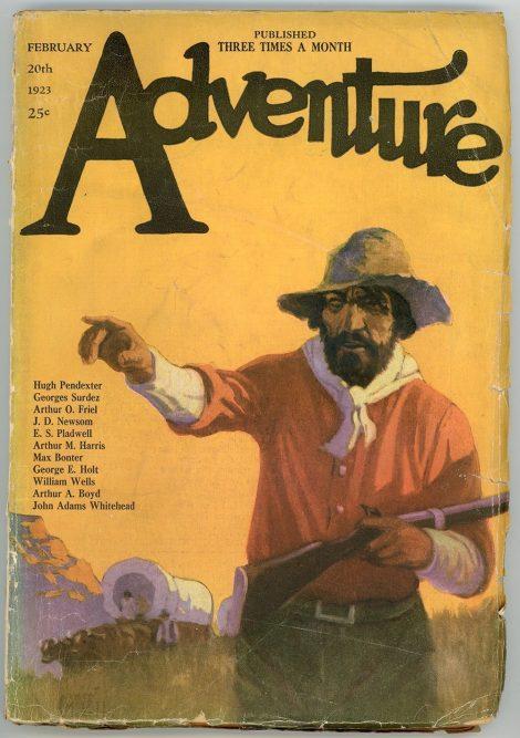 Adventure Magazine (February 20 1923)