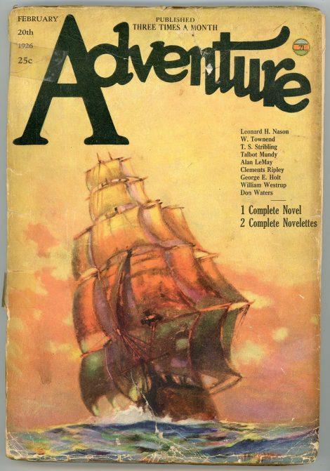Adventure Magazine (February 20 1926)