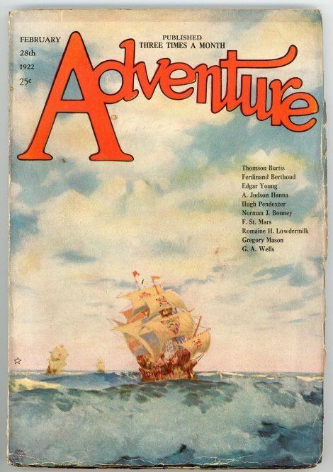 Adventure Magazine (February 28 1922)