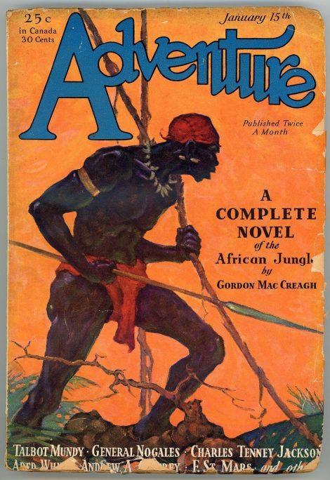 Adventure Magazine (January 15 1931)