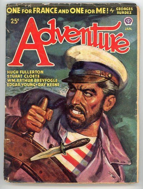 Adventure Magazine (January 1946)