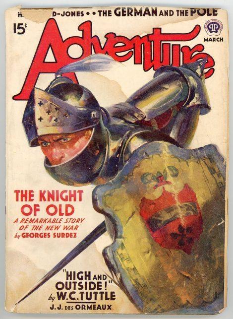 Adventure Magazine (March 1940)