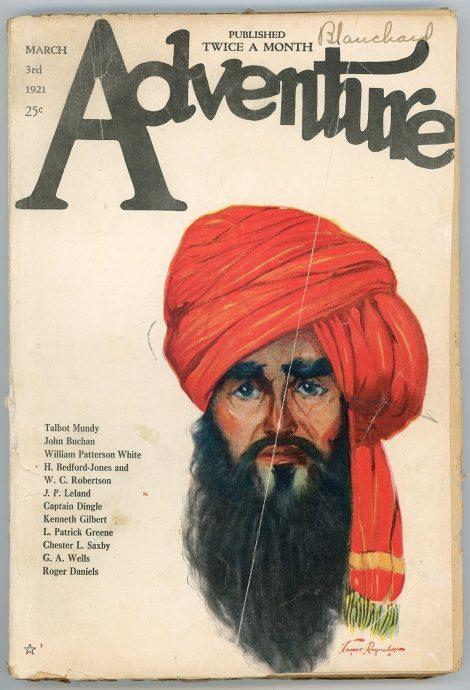Adventure Magazine (March 3 1921)