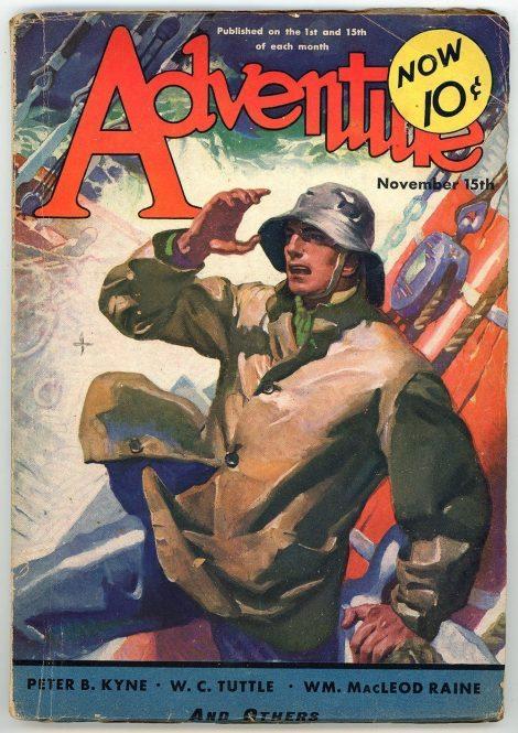 Adventure Magazine (November 15 1932)