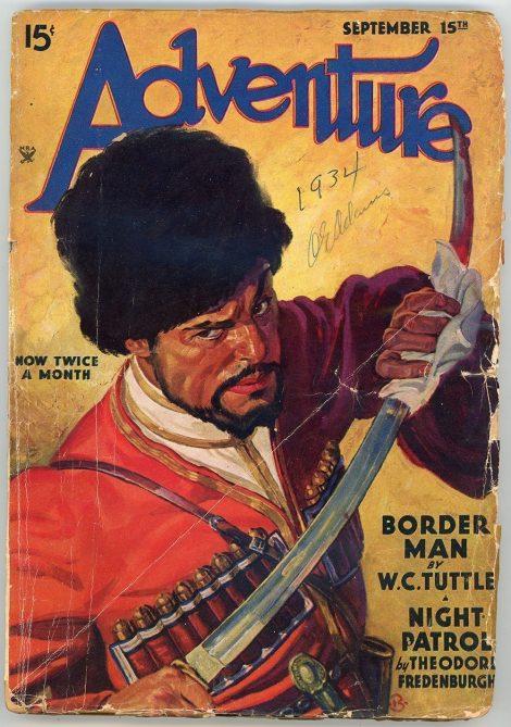 Adventure Magazine (September 15 1934)