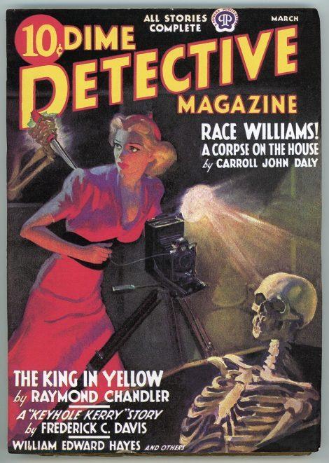 Dime Detective Magazine (March 1938)