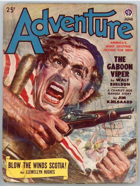 Adventure Magazine (June 1950)