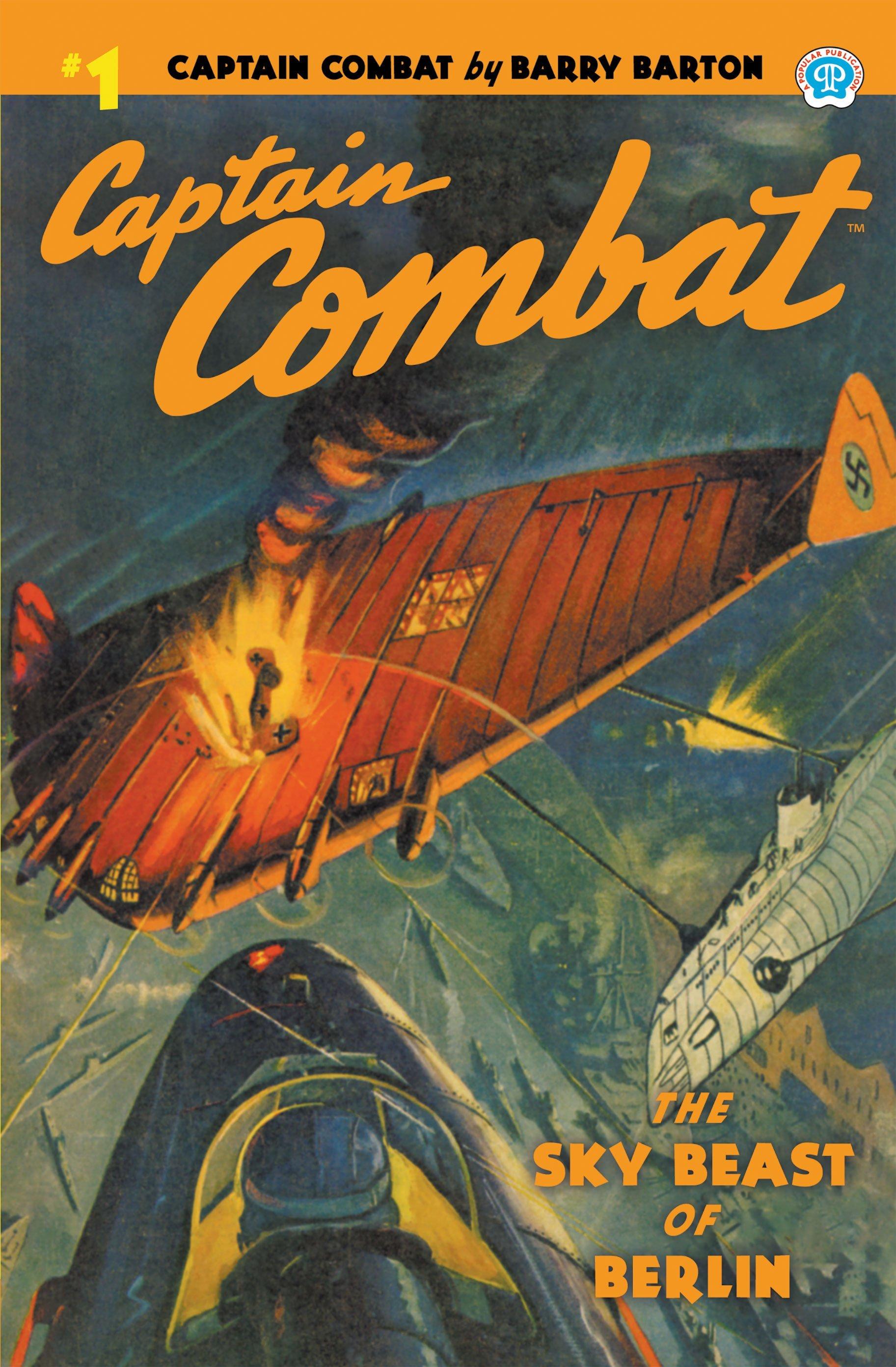 Captain Combat #1: The Sky Beast of Berlin