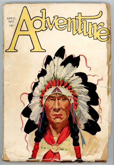 Adventure Magazine (April 1917)